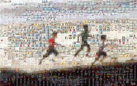 "Networking Knowledge: Mediatizing Gaza.  ""Gaza Audio-Visual Narrative by a Cyborg: Images by Hashtag"" (VJ Um Amel, 2014): http://vjumamel.com/gaza-viz/"