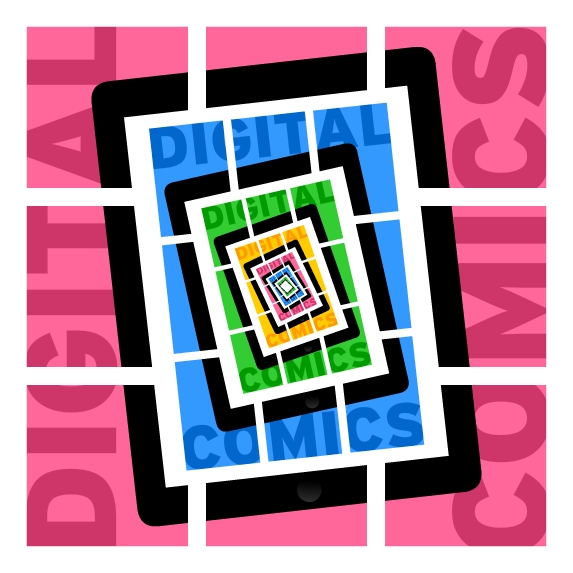 """Networking Knowledge: Digital Comics. """"Digital Comics"""" by Daniel Merlin Goodbrey."""