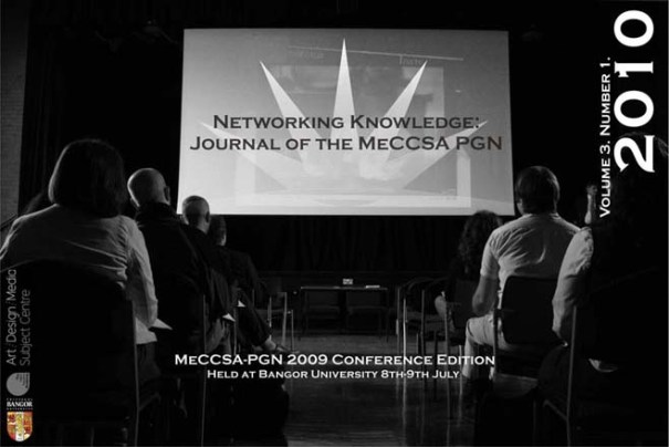 MeCCSA-PGN Conference 2009 at Bangor University. Photography by Lyle Skains. Design by Amy Chambers.